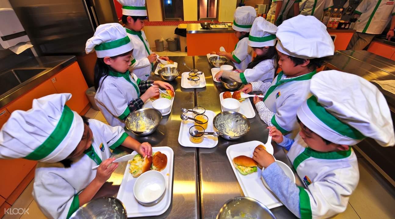 kids cooking at kidzania kuala lumpur tickets